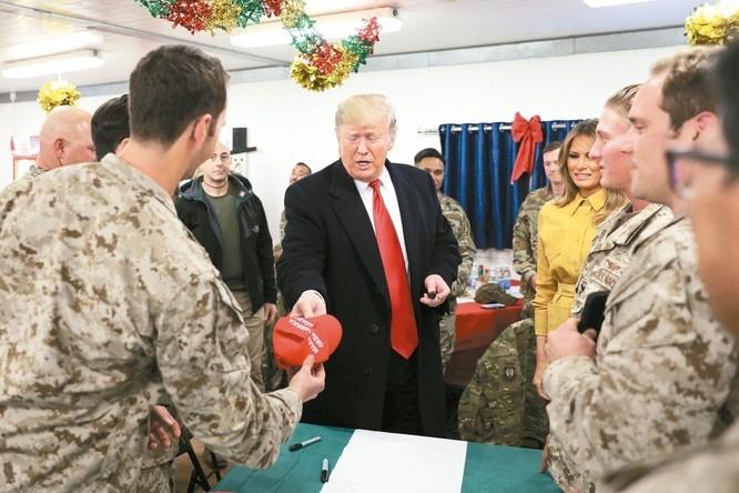 Chuyến đi của ông Donald Trump tới Iraq: lợi bất cập hại, lộ bí mật đặc nhiệm Mỹ ảnh 6
