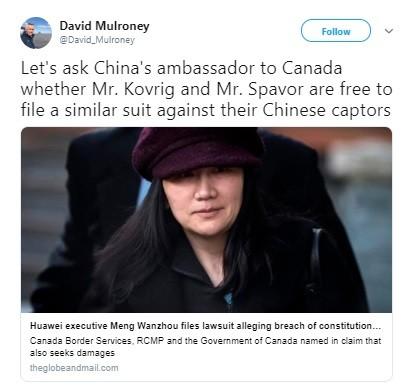 Muốn trì hoãn tiến trình dẫn độ, bà Mạnh Vãn Chu kiện chính phủ Canada và Mỹ ảnh 5