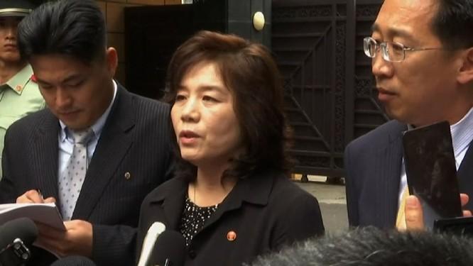 Triều Tiên tuyên bố xem xét ngừng đàm phán phi hạt nhân với Mỹ! ảnh 1