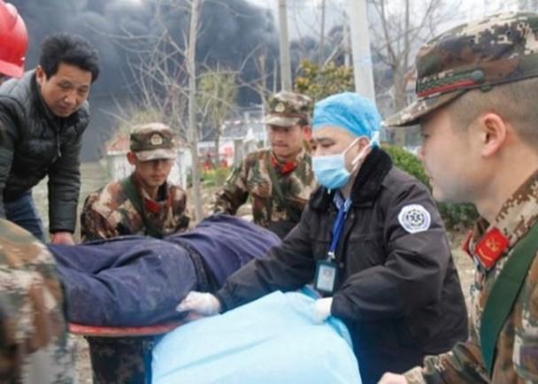 Nổ kinh hoàng nhà máy thuốc trừ sâu ở Trung Quốc: gần 800 người thương vong ảnh 5