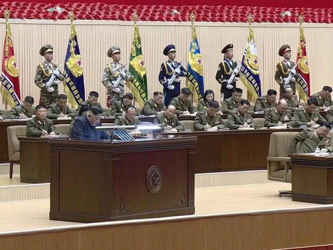 Triều Tiên họp hội nghị chỉ huy cấp đại đội toàn quân! ảnh 4