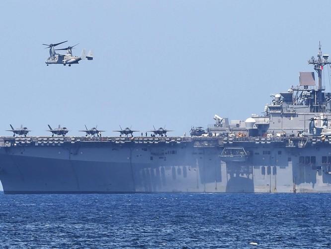 Mỹ và Philippines diễn tập phối hợp tác chiến chiếm đảo tại Texas ảnh 2