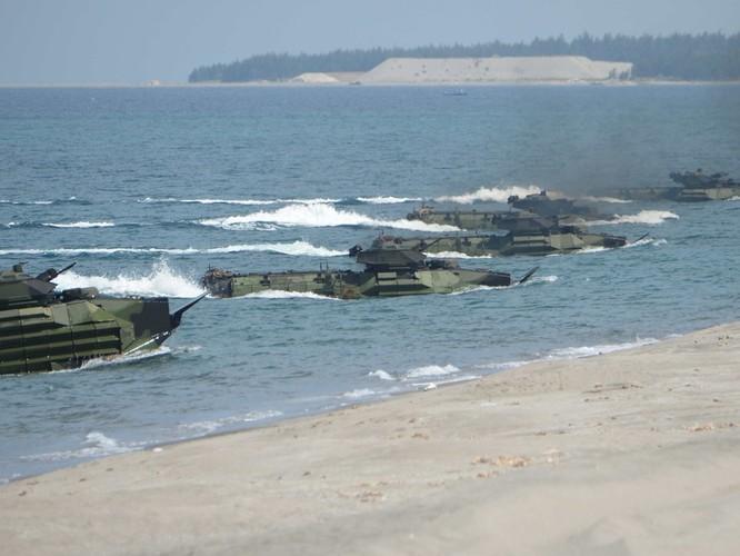 Mỹ và Philippines diễn tập phối hợp tác chiến chiếm đảo tại Texas ảnh 3