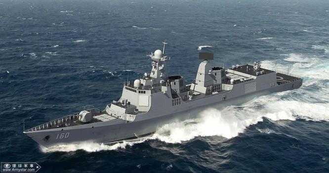 Hải quân Trung Quốc tổ chức duyệt binh lớn chưa từng thấy trên biển ảnh 1