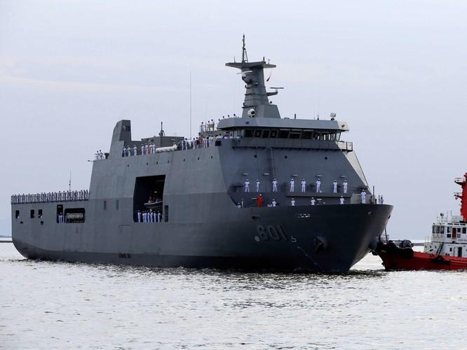 Hải quân Trung Quốc tổ chức duyệt binh lớn chưa từng thấy trên biển ảnh 3