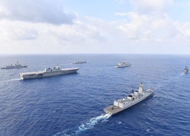 Hải quân Mỹ, Nhật, Ấn Độ và Philippines diễn tập trên Biển Đông thách thức yêu sách của Trung Quốc ảnh 1