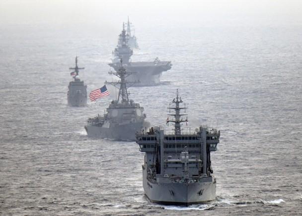 Hải quân Mỹ, Nhật, Ấn Độ và Philippines diễn tập trên Biển Đông thách thức yêu sách của Trung Quốc ảnh 3