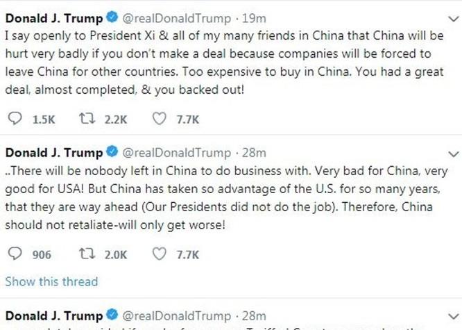 Donald Trump ra tay mạnh với Trung Quốc vì ngại quan hệ Joe Biden với Tập Cận Bình? ảnh 1