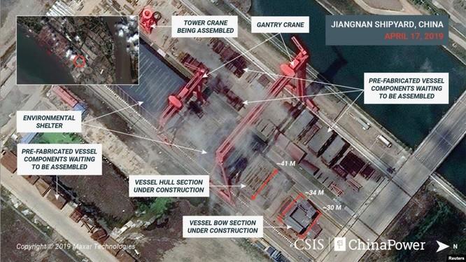 Kế hoạch đóng tàu sân bay và chiến lược hải quân viễn dương của Trung Quốc ảnh 1