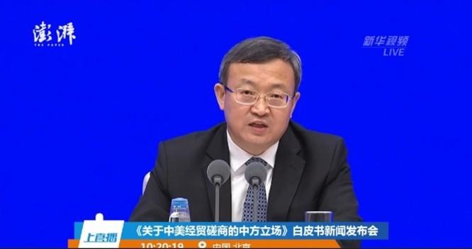 """Chuẩn bị """"đánh lâu dài"""", Trung Quốc tung Sách Trắng về đàm phán Trung – Mỹ ảnh 1"""