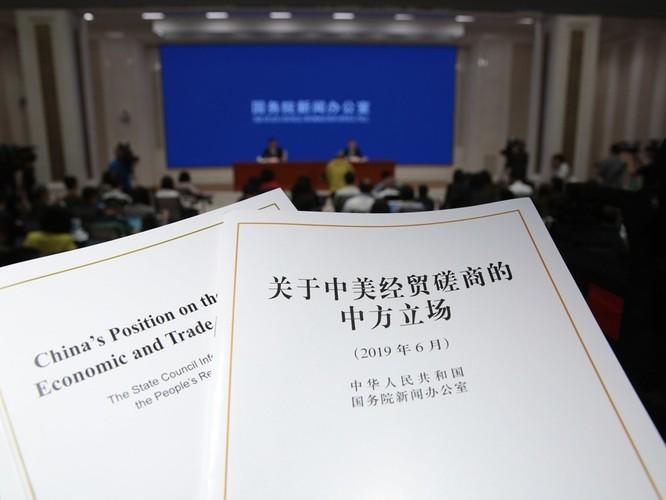Mỹ ra tuyên bố đáp lại Sách Trắng của Trung Quốc: Bắc Kinh mới là bên lật lọng! ảnh 1