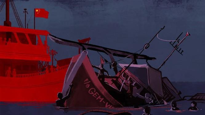 Tuy đã thừa nhận vụ việc, Bắc Kinh vẫn nói tàu Trung Quốc không cố ý đâm chìm tàu và không bỏ mặc ngư dân Philippines ảnh 1