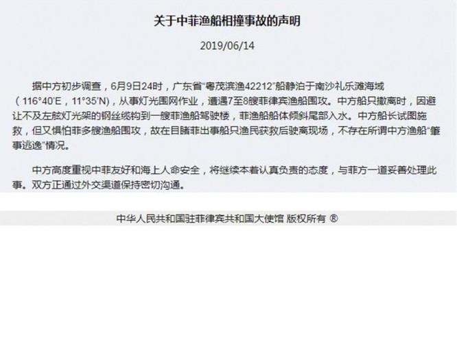 Vụ tàu Trung Quốc đâm chìm tàu Philippines: Viện trưởng Ngô Sĩ Tồn muốn đổ vấy cho tàu Việt Nam ảnh 3