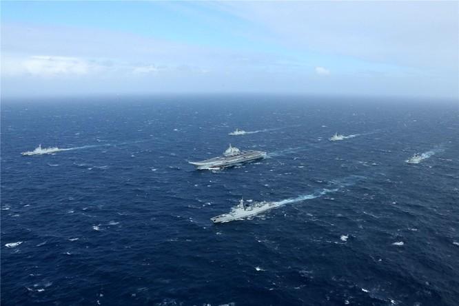 Trung Quốc đưa biên đội tàu sân bay Liêu Ninh xuống Trường Sa và bố trí 4 máy bay J-10 ở đảo Phú Lâm, Hoàng Sa ảnh 3