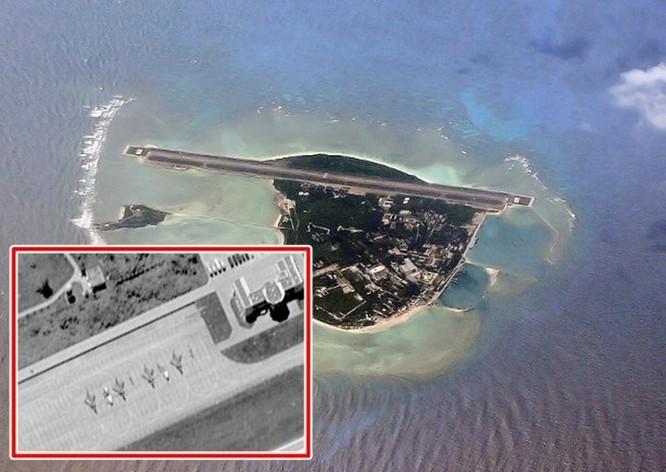 Trung Quốc đưa biên đội tàu sân bay Liêu Ninh xuống Trường Sa và bố trí 4 máy bay J-10 ở đảo Phú Lâm, Hoàng Sa ảnh 1