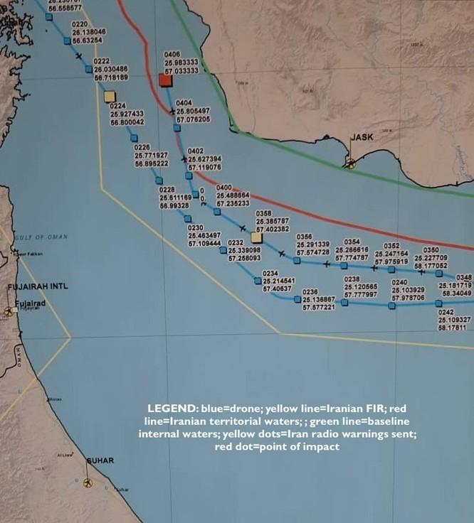 Giải mã toàn cảnh vụ Iran bắn rơi UAV trinh sát tối tân của Mỹ ảnh 4