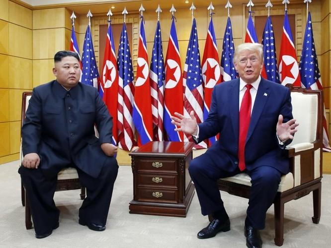 Hình ảnh cuộc gặp lịch sử Donald Trump – Kim Jong Un tại Khu phi quân sự Hàn – Triều ảnh 8
