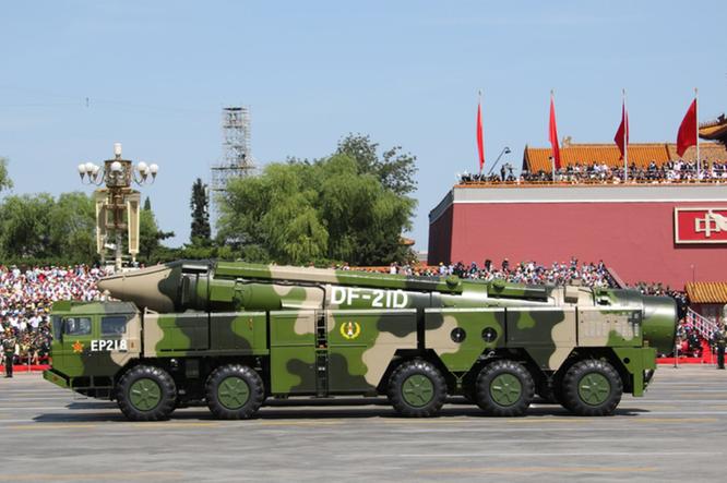 """Trung Quốc phóng 6 tên lửa """"Sát thủ tàu sân bay"""" ra Biển Đông để dằn mặt Mỹ? ảnh 2"""