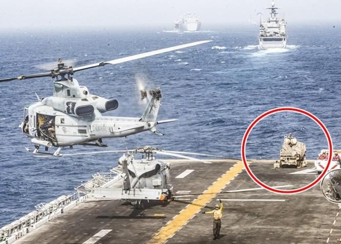 Tàu chiến Mỹ phá hủy máy bay không người lái của Iran, quan hệ Mỹ - Iran căng như dây đàn ảnh 2