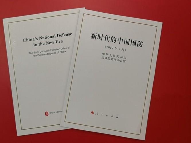 """Vấn đề Đài Loan trong Sách trắng """"Quốc phòng Trung Quốc trong thời đại mới"""" ảnh 1"""