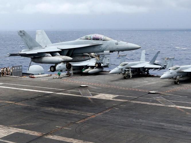 Mỹ đưa cụm tác chiến tàu sân bay Ronald Reagan vào Biển Đông ảnh 2