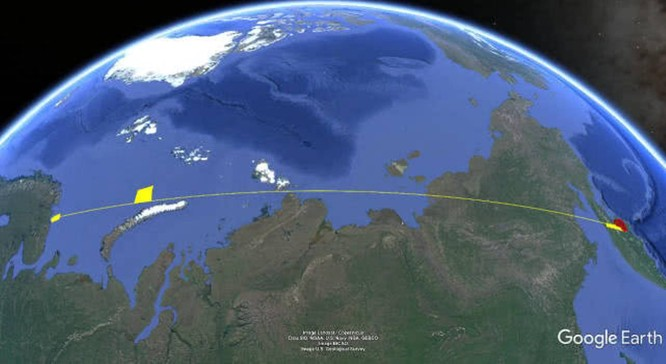 """""""Đáp lễ"""" Mỹ, Nga phóng 2 tên lửa đạn đạo từ tàu ngầm hạt nhân chiến lược ảnh 3"""
