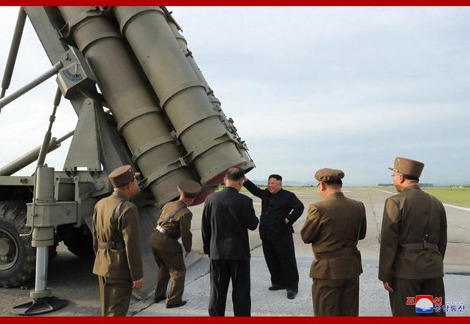 Giải mã vụ thử nghiệm vũ khí mới bí ẩn của Triều Tiên hôm 24/8 ảnh 3