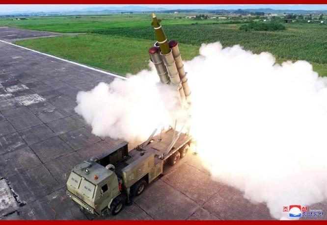 Giải mã vụ thử nghiệm vũ khí mới bí ẩn của Triều Tiên hôm 24/8 ảnh 2