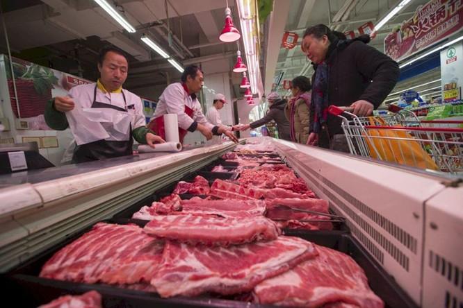 """Dân Trung Quốc than trời vì giá thịt lợn """"trên trời"""" ảnh 2"""