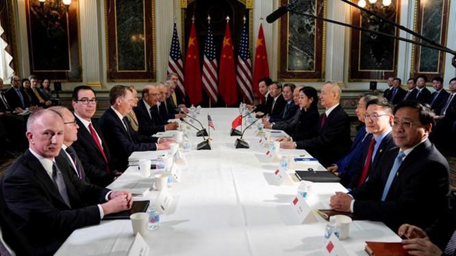 Đàm phán thương mại Mỹ - Trung hoãn tới tháng 10 do bất đồng ảnh 1