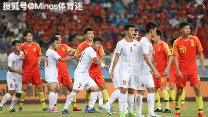 Dư luận Trung Quốc nổi sóng vì đội tuyển Olympic Trung Quốc thua trắng đội U22 Việt Nam ảnh 3