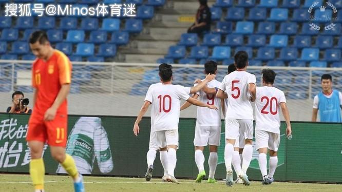 Dư luận Trung Quốc nổi sóng vì đội tuyển Olympic Trung Quốc thua trắng đội U22 Việt Nam ảnh 2