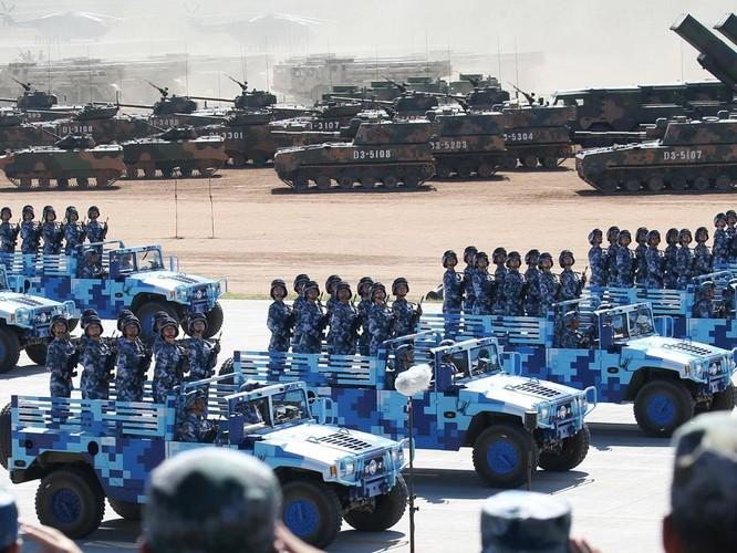 Xung quanh việc Trung Quốc tổ chức diễu binh kỷ niệm 70 năm Quốc khánh lớn chưa từng thấy ảnh 2