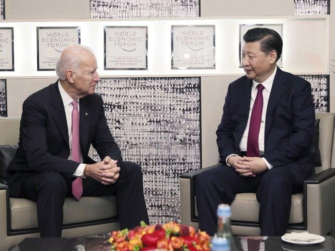 Khoe quan hệ thân thiết với Chủ tịch Trung Quốc Tập Cận Bình, ông Joe Biden phê phán Tổng thống Donald Trump ảnh 1