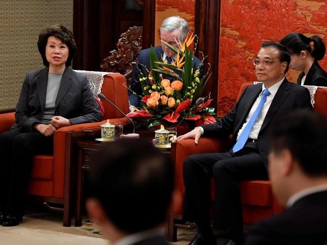 Nữ Bộ trưởng Giao thông Mỹ gốc Hoa Elaine Chao bị điều tra vì thông đồng với Trung Quốc và mưu lợi riêng ảnh 1
