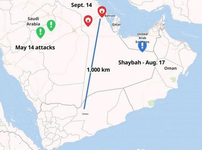 Từ vụ Global Hawk RQ-4 bị bắn hạ đến mỏ dầu Ả rập Saudi bị tấn công, Mỹ bất ngờ trước tên lửa Iran ảnh 3