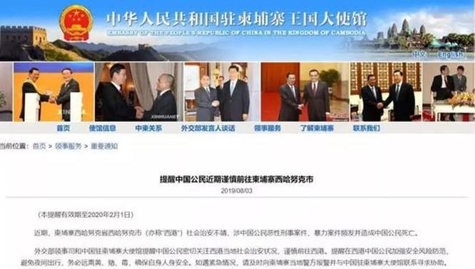 Báo Trung Quốc lý giải việc người Trung Quốc đột nhiên lũ lượt rời khỏi Campuchia ảnh 4