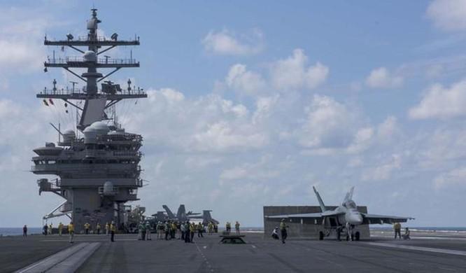 Mỹ đưa tàu sân bay USS Ronald Reagan vào Biển Đông, Trung Quốc nổi giận cho tàu bao vây? ảnh 4