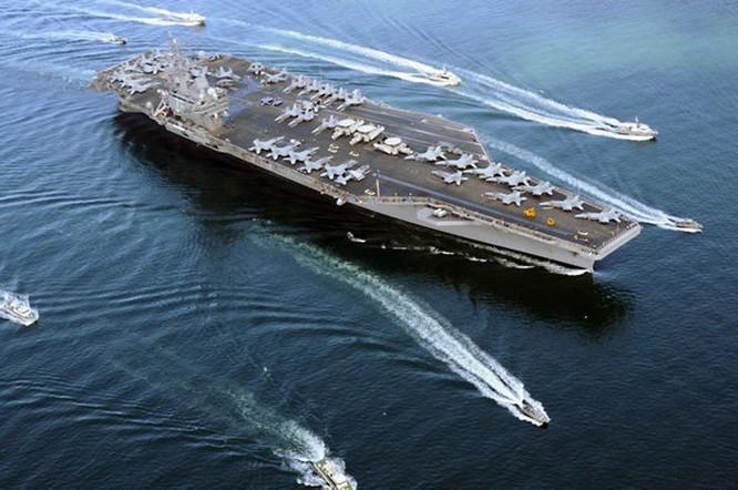 Mỹ đưa tàu sân bay USS Ronald Reagan vào Biển Đông, Trung Quốc nổi giận cho tàu bao vây? ảnh 5