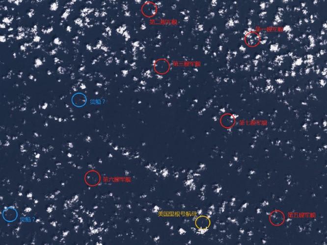Mỹ đưa tàu sân bay USS Ronald Reagan vào Biển Đông, Trung Quốc nổi giận cho tàu bao vây? ảnh 1