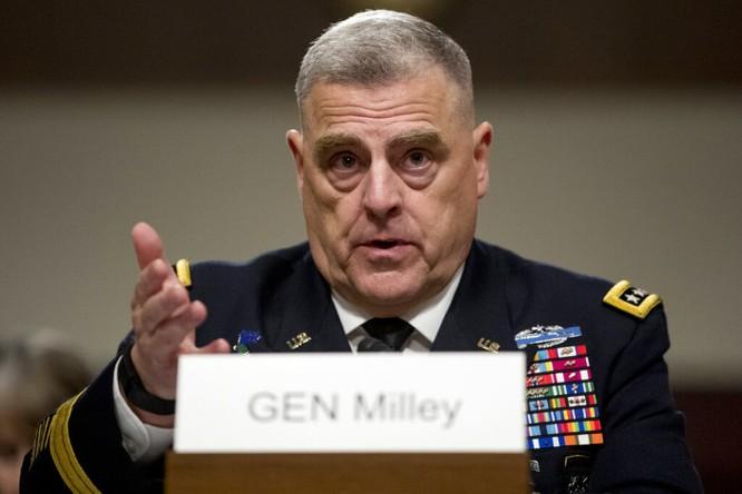 Đại tướng 4 sao Mark Milley làm Chủ tịch Hội đồng Tham mưu trưởng Liên quân Mỹ ảnh 2