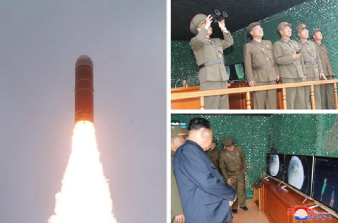 Triều Tiên gây rúng động bởi việc phóng tên lửa đạn đạo từ tàu ngầm ảnh 3