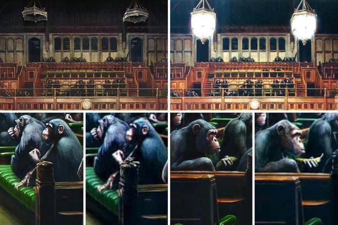 Bức tranh tiên tri về tương lai nước Anh của họa sỹ đường phố bán được 290 tỷ ảnh 3
