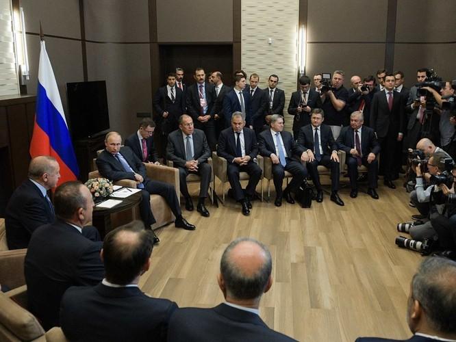 Nga và Thổ Nhĩ Kỳ ký thỏa thuận về Syria, Mỹ ngậm đắng nuốt cay ảnh 1