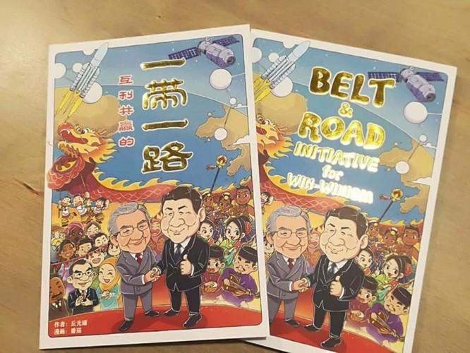 """Malaysia cấm phát hành cuốn sách ca ngợi """"Vành đai, con đường"""" của Trung Quốc, gây chấn động dư luận ảnh 2"""