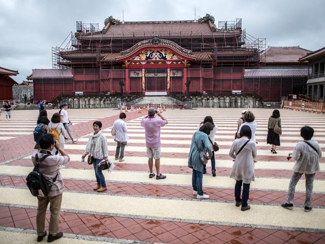 """Lâu đài Shuri – """"Quốc bảo Nhật Bản"""", di sản văn hóa thế giới bị lửa thiêu rụi ảnh 5"""