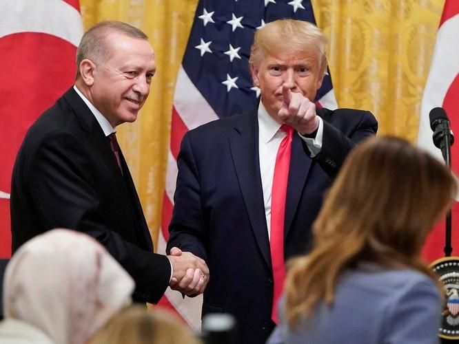 Chuyến thăm Mỹ của Tổng thống Thổ Nhĩ Kỳ Erdogan: hữu nghị trên miệng, thực chất bế tắc! ảnh 5