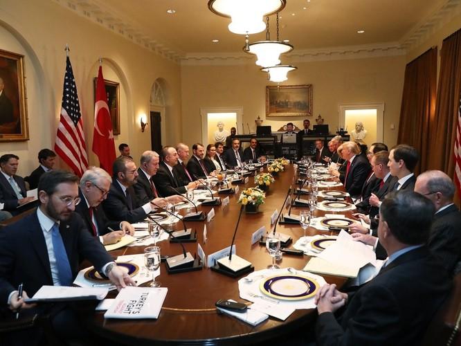 Chuyến thăm Mỹ của Tổng thống Thổ Nhĩ Kỳ Erdogan: hữu nghị trên miệng, thực chất bế tắc! ảnh 1