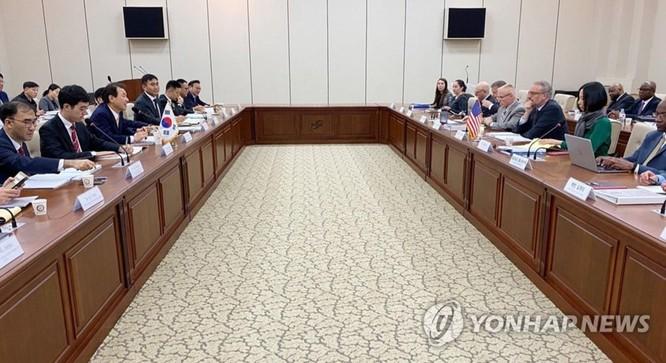 Các cuộc đàm phán về chi phí quốc phòng Mỹ - Hàn Quốc tan vỡ, Mỹ đang xem xét rút 4.000 quân đồn trú tại Hàn Quốc ảnh 1