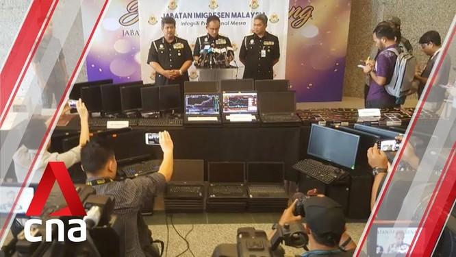 Hàng ngàn tội phạm lừa đảo qua mạng người Trung Quốc bị bắt giữ ở các nước Đông Nam Á và Mông Cổ ảnh 2